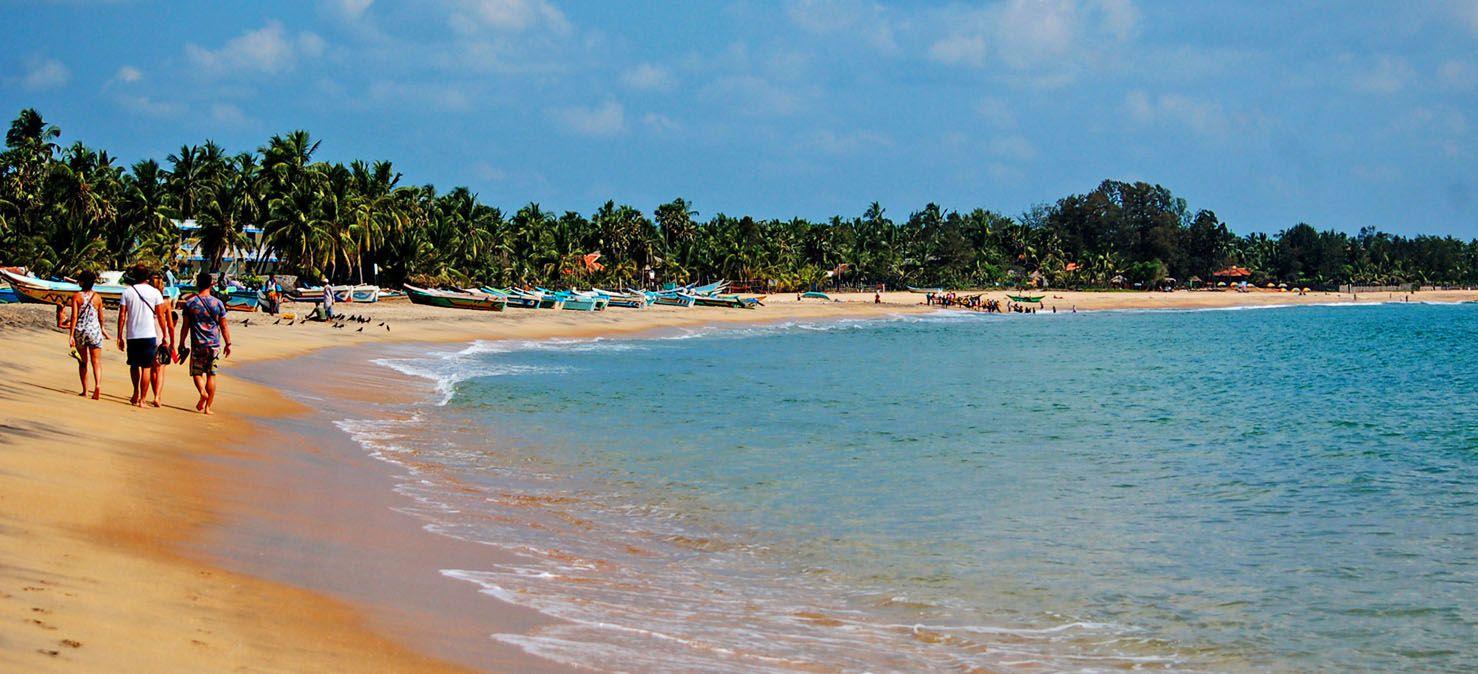 Turquoise beaches